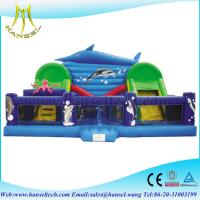 Wholesale Hansel PVC Tarpaulin suitable on Square inflatable giant cartoon fun city from china suppliers