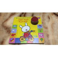 Wholesale Cute Carton CMYK Children'S Books That Play Music For Early Education from china suppliers