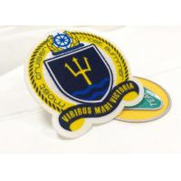 Wholesale Heat Cut Twill Fabric Custom Clothing Patches Cloth Embroidered Badges from china suppliers