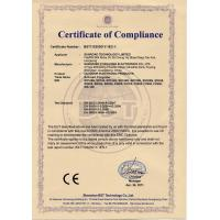 SUNROAD TECHNOLOGY LIMITED Certifications