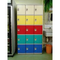 Wholesale Strong / Beautiful Employee Storage Lockers 5 Comparts 1 Column For Public Place from china suppliers