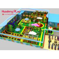 China Commercial Wooden Soft Indoor Play Equipment For Toddlers Anti  Skid  Highly Reliable for sale