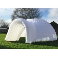 Wholesale Simple Inflatable Igloo Tent , White Inflatable Dome Tent CE / UL Certificate from china suppliers