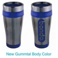 Traveler Contour  16oz. Stainless steel travel tumbler with