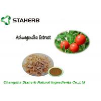 China Pure Natural Plant Extract Ashwagandha Extract Withanolides By HPLC on sale
