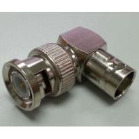 Wholesale Right Angle BNC Male To BNC Female Connector L-shaped RoHs CE Certification from china suppliers