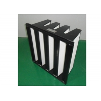 Wholesale ISO Filter Purifie V Bank Filter Plastic Frame With Big Air Volume from china suppliers