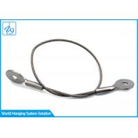 China Steel Wire Rope Slings Suppliers Cable Eye And Eye For Extension Spring Safety Cable for sale