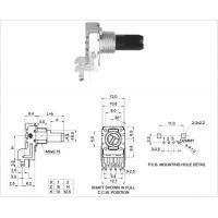 12MM potentiometer without switch plastic shaft