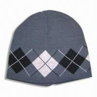 Wholesale Knitted Hat, Made of 100% Acrylic from china suppliers