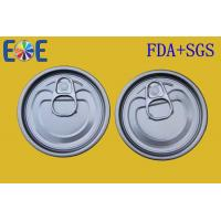 China Food Can Lid , Steel Tinplate Easy Open Ends 211# 65mm Food Grade on sale