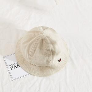 Wholesale BSCI Terry Corduroy Fisherman Bucket Hat No Buckle from china suppliers