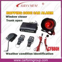 Wholesale Hopping Code Auto Alarms Systems Weather Condition Identification Function CF886H from china suppliers