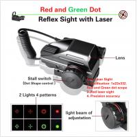 China red and green sight, riflex sight with laser, laser sight,Rifle Scope, Scope Mounts & Accessories, Red Dot & Laser Scope on sale