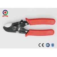 China Heavy Duty Solar Tools Electrical Wire Cable Cutter Chrome Vanadium Safety Red Color for sale