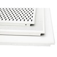 Wholesale Commercial Project Aluminum Hollow Perforated Ceiling Tiles Clip In Sound - Absorbing from china suppliers