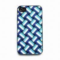 Wholesale PC Case for iPhone 4, Different Patterns and Colors Available from china suppliers
