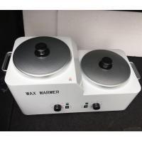 China Hair Removal Depilatory Wax Double Pot For Nail Salon Equipment Wax Warmer for sale