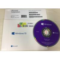 China Global Languages Windows 10 Pro OEM Package KEY Code License COA Sticker DVD Flash for sale