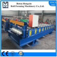 Custom Length Roof Automatic Roll Forming Machine 1000mm Plate Effective Width
