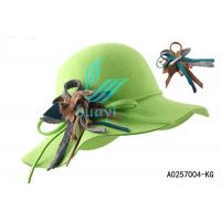 Wholesale green fancy ladies church hats for sale from china suppliers