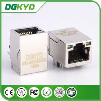 21.4mm Tab-up 100Base 1 x 1 Modular RJ45 Jack Connector with LEDS Side Entry HR871181A