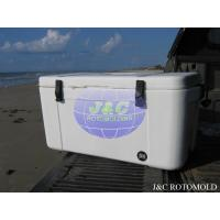 Precision Rotational Molded Cooler , LLDPE Insulated Small Rotomolded Coolers