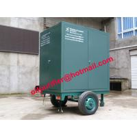 Onsite maintenance transformers Oil Purification Machine, mobile insulation oil refinery for sale