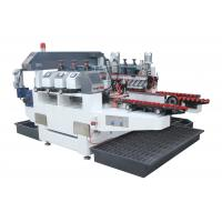 Wholesale 6 Motors Customized Glass Edging Machine With Four Diamond Wheel , High Efficiency from china suppliers