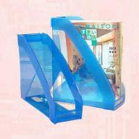 China Twin Magazine Holder in Stackable Design for sale