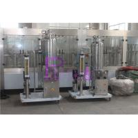 Wholesale CO2 / Syrup Soft Drink Processing Line For Carbonated Drink Filling System from china suppliers