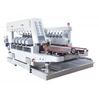 Wholesale Ten Motors Double Edge Polishing Machine , Glass Grinding Machine White Color from china suppliers