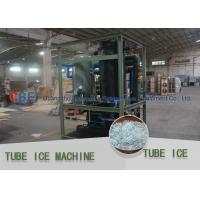 Best Crystal , Edible Ice Tube Making Machine With Stainless Steel 304 Evaporator wholesale