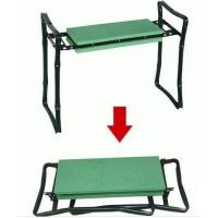 Wholesale Steel Pipe EVA Foldable Garden Bench Kneeler Seat Stool 58.5 * 25 * 48cm from china suppliers