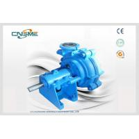 Wholesale 10 / 8 F Rubber Lined Slurry Pumps , Single Stage Natural Rubber Slurry Pump from china suppliers