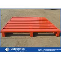 Wholesale Customized Stackable Steel Pallets Corrosion Resistant Heavy Duty Pallets from china suppliers