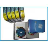 China MS Windows 7 Retail Version , Windows 7 Professional 64 Bit Box For Global Area for sale