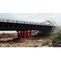 Wholesale Double lane Bailey Bridge / Modular Steel Panel Bridge/ steel truss modular bridge from china suppliers