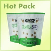 Wholesale Reclosable Plastic Sealable Stand Up Pouch Bags With Tear Notch Moisture Proof from china suppliers