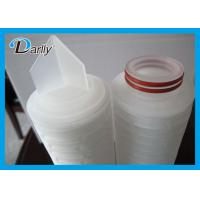 Best Water Pleated 1 Micron Filter Cartridge PP Absolute Filter Cartridge Length 10'' 20'' wholesale