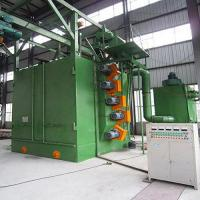 Best Eco - Friendly Hanger Type Shot Blasting Machine For Sand Rust Grinding wholesale