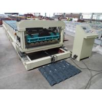 Solid Steel Shaft Metrocopo Tile Roll Forming Machine with CE certificate