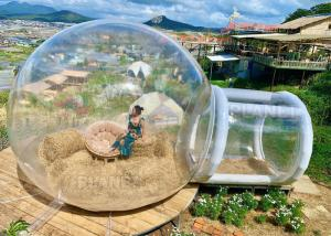 Wholesale 4m Diameter Outdoor Camping Transparent Inflatable Bubble Dome Tent With Blower from china suppliers