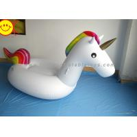 Best Sunway Unicorn Inflatable Water Floats Giant 270cm PVC Animal Pool Floating Toys wholesale