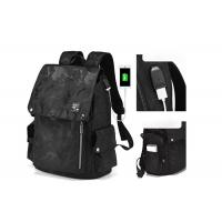 Wholesale High Quality New Arrival Trend Casual Men Backpack All Black Backbag for Sale from china suppliers