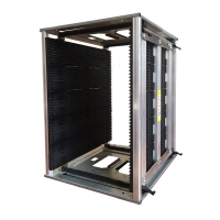 Wholesale Antistatic 200kg 50pcs PCB Slots ESD Magazine Rack from china suppliers
