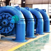 Compact Horizontal Hydro Turbine Synchronous 3 Phase Ac Brushless Excitation Type for sale