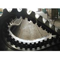 Yanmar Large Undercarriage Rubber Tracks 232kg 90 Mm Pitch In Black Color for sale