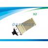 Fiber Optical Single Mode Transceiver DDM x2-10gb-sr 10gbase-sr x2 module +3.3V Duplex for sale