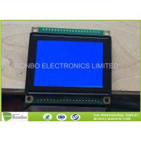 China 128 X 64 Graphic Display Module , STN Blue Negative Monochrome Graphic Lcd for sale